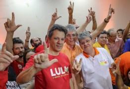 HADDAD EM JOÃO PESSOA: confira a programação do presidenciável na capital paraibana