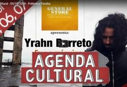 AGENDA CULTURAL: Confira programação cultural deste fim de semana em João Pessoa
