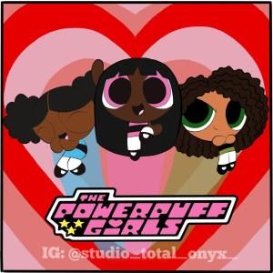 personagens negros meninas super poderosas 300x300 - Artista recria desenhos clássicos com personagens negros