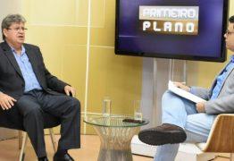 João diz que resultado da eleição confirma independência do povo da Paraíba