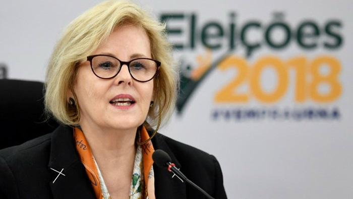 """rosa - Rosa Weber pede que eleitor não deixe que nada """"tumultue"""" seu voto"""