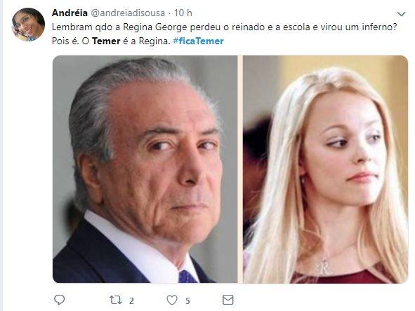 temer 17 - ELEIÇÕES 2018: Com Bolsonaro e Haddad no segundo turno,  #FicaTemer vira meme nas redes sociais