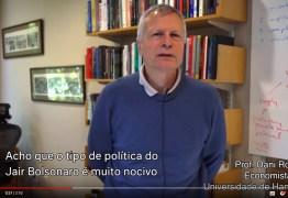 Professores e estudantes de Harvard lançam vídeo contra Bolsonaro: VEJA VÍDEO