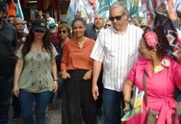 EM JOÃO PESSOA: Marina Silva critica PT e Bolsonaro e afirma que 'casa dividida não tem como subsistir'
