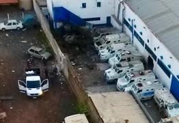 Quadrilha explode empresa de valores e troca tiros com a PM por 2 horas – VEJA VÍDEOS
