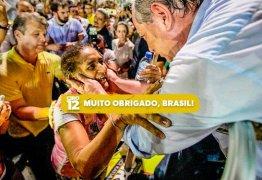 'Muito obrigado, Brasil', diz Ciro, após ficar fora do segundo turno
