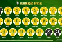 Richarlison fica com a camisa 7 na seleção brasileira; confira a numeração para os amistosos