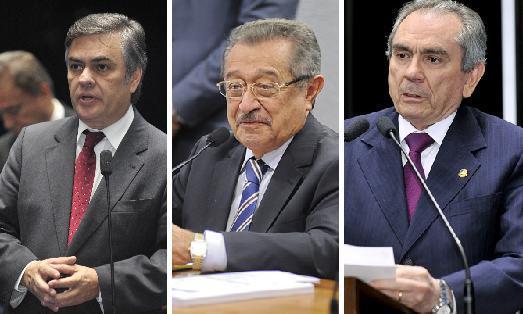 1448539843741 senadores - Cássio e Lira votam pelo reajuste salarial dos ministros do STF; Maranhão se abstém do voto