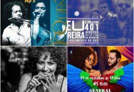 AGENDA CULTURAL: confira os eventos que agitam a capital paraibana neste fim de semana