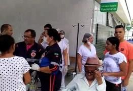 Incêndio em UPA de Campina Grande assusta pacientes e funcionários nesta sexta – VEJA VÍDEO