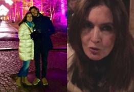 Fátima Bernardes relata episódio machista em restaurante na Alemanha