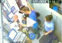 Câmeras de segurança registram assalto em casa lotérica da Paraíba