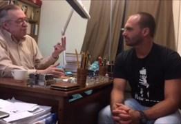 Filho de Bolsonaro quer levar novos deputados do PSL para curso com Olavo de Carvalho