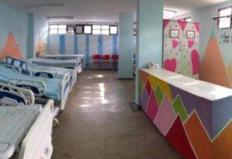 Ortotrauma reforma enfermaria pediátrica em parceria com Fundação Cidade Viva