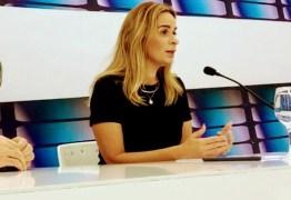 Daniella destaca candidatura casada com Cássio, mas diz que tucano não deveria ter sido candidato ao Senado