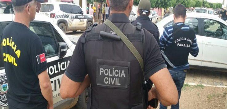 POLÍCIA CIVIL PB 738x355 - OPERAÇÃO XADREZ: Polícia Civil cumpre mandados contra suspeitos de tráfico de drogas no Brejo paraibano