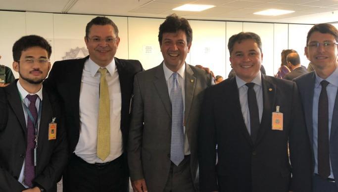 """WhatsApp Image 2018 11 20 at 19.35.54 - Aliado de novo ministro da Saúde, Efraim Filho afirma que Mandetta é """"o melhor nome"""""""