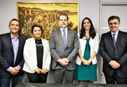 Prefeito de Santa Rita é recebido pelo Presidente do STF, em Brasília