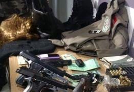 Policia Militar prende quadrilha especializada em explosões a banco, na Paraíba