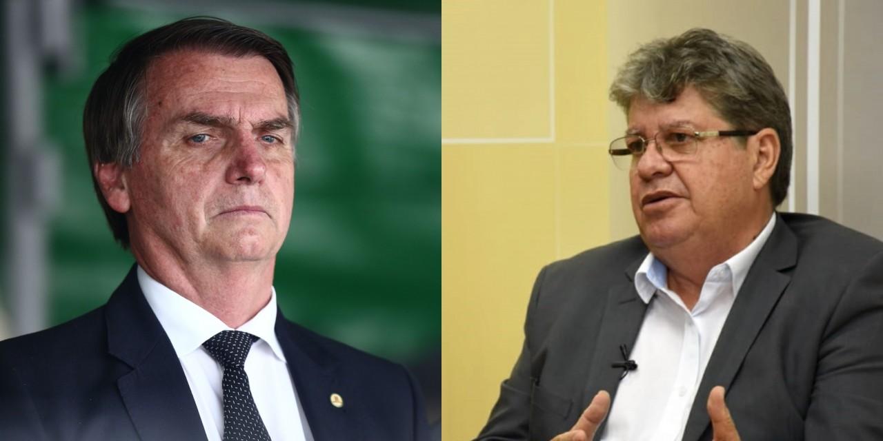 GOVERNADORES E BOLSONARO - João Azevedo não quer enfrentamento e ...