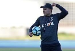 Contra o Corinthians, Botafogo reencontra ex-técnico Jair Ventura pela primeira vez