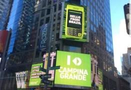 INTERNACIONAL: Campina Grande é destaque na Times Square