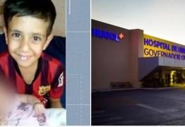 TRAGÉDIA: criança de 7 anos morre enquanto brincava com a arma do padrinho