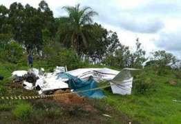 Avião com quatro pessoas sai de Brasília e cai em MG; não há sobreviventes