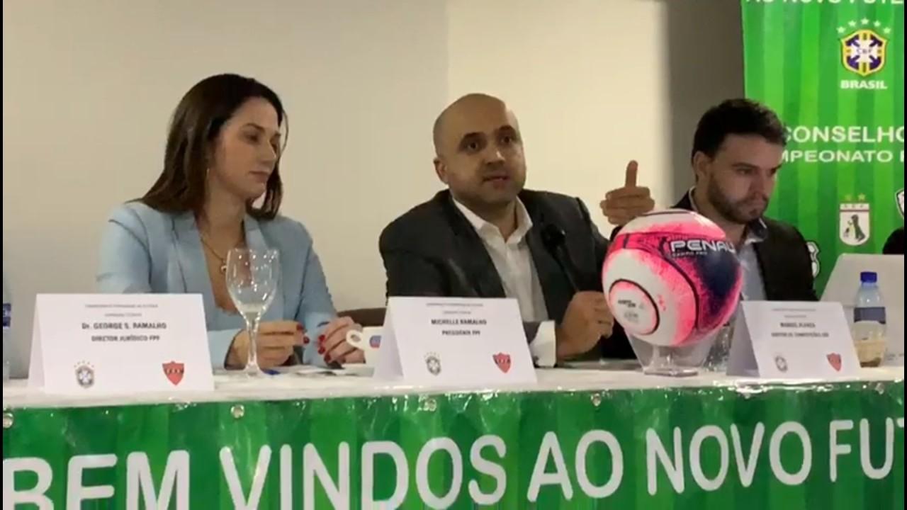 fpf 1 - VEJA VÍDEO: diretor da CBF anuncia novas regras do campeonato paraibano de futebol