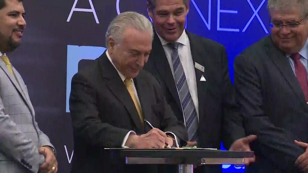 ROTA 2030: Temer assina decreto que regulamenta novo programa de incentivos anual de R$ 1,5 bi a montadoras