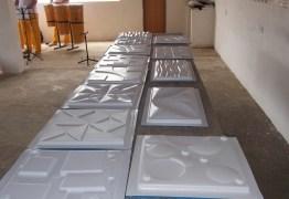 TRABALHO PARA APENADOS: fábrica de gesso é instalada dentro de presídio em João Pessoa