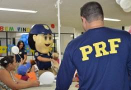 PRF faz ação contra câncer infantil na PB