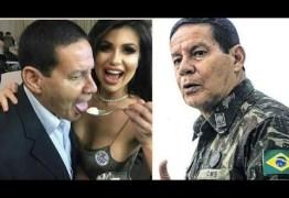 Morena clicada com Mourão foi investigada por Sérgio Moro em suposta ligação com tráfico