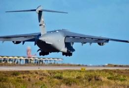 Mais de 100 aeronaves e 14 países participam de exercícios de guerra em Natal