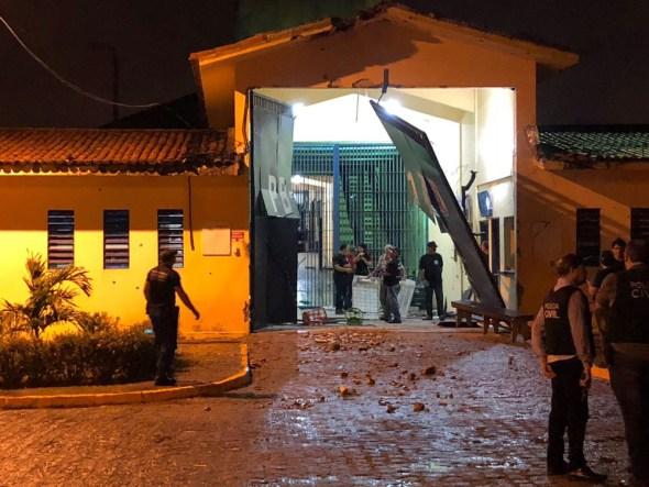 pb1 explosao - Polícia Militar captura fugitivo do PB-1; cerca de 39 seguem foragidos