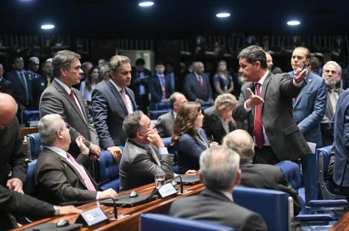 plenário 3 - Senadores aprovam mudanças em projeto que multa casos de desistência na compra de imóveis