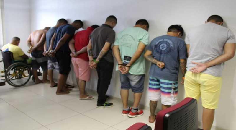 presos - OPERAÇÃO CARGA SEGURA: Polícia prende mais cinco suspeitos de envolvimento com crimes