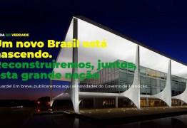 PSL lança site oficial para divulgar informações sobre o governo de transição de Bolsonaro
