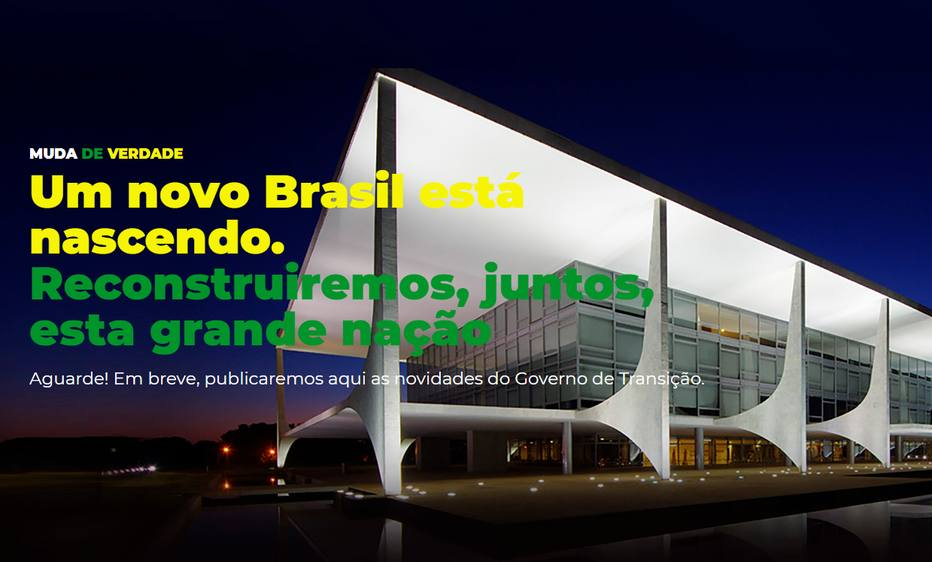 psl - PSL lança site oficial para divulgar informações sobre o governo de transição de Bolsonaro