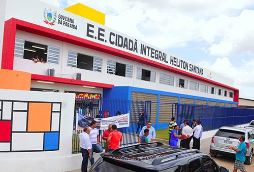 ricardo inaugura escola cidada em santa rita foto jose marques 4 - EDUCAÇÃO: MEC libera R$ 5,4 milhões para escolas integrais da Paraíba