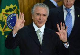 Temer cita a Paraíba e diz que principal realização do seu governo foi a Transposição do São Francisco