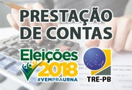Partidos e candidatos têm até dia 6 de novembro para enviarem prestação de contas do primeiro turno das Eleições 2018