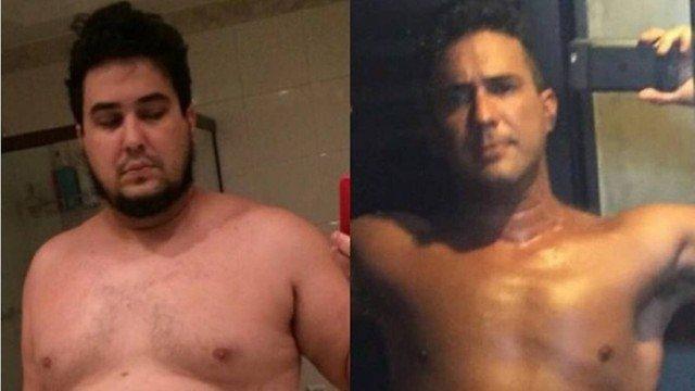 xandre marques.jpg.pagespeed.ic .7DrhjEC4zC - André Marques posta antes e depois após perder 70kg e diz: 'Estava no fundo do poço'