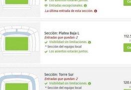 FINAIS DA LIBERTADORES: Ingresso para Boca x River Plate chega a valer R$ 18 mil