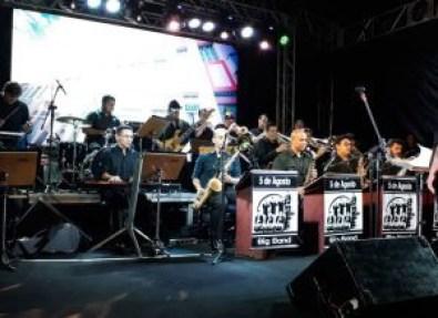 5 de Agosto Big Band 300x218 300x218 - 'Natal com Jazz' leva 5 de Agosto Big Band e Ranna Andrade ao Parque da Lagoa