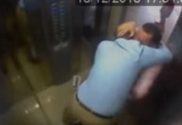 VEJA VÍDEO: Jornalista espanca vizinho idoso após discussão no elevador do prédio