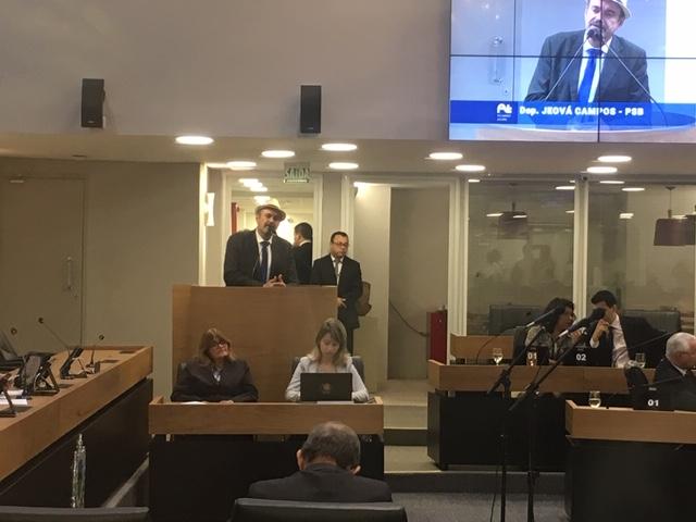 Deputado Jeová Campos defende mais investimentos na agricultura familiar - Jeová Campos sugere que política de investimento  do estado também priorize a agricultura familiar