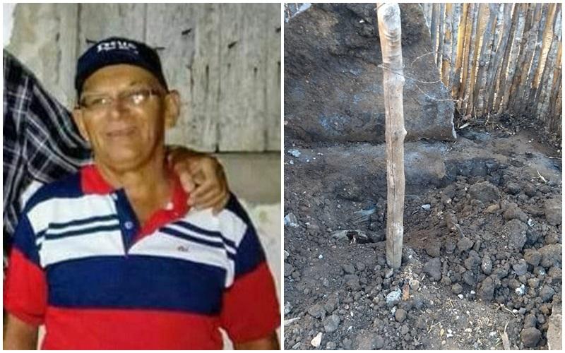 IDOSO BSR - MOTIVAÇÃO FOI DÍVIDA DE R$3 MIL: Homem que matou idoso e enterrou em chiqueiro era 'considerado como um filho'