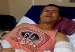 SEGUE ENTUBADO E SEDADO: Arapuan confirma melhora no quadro de saúde do 'Repórter Águia'