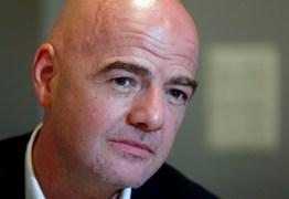 Definição sobre ampliar número de seleções na Copa do Catar para 48 sairá em março, diz Infantino